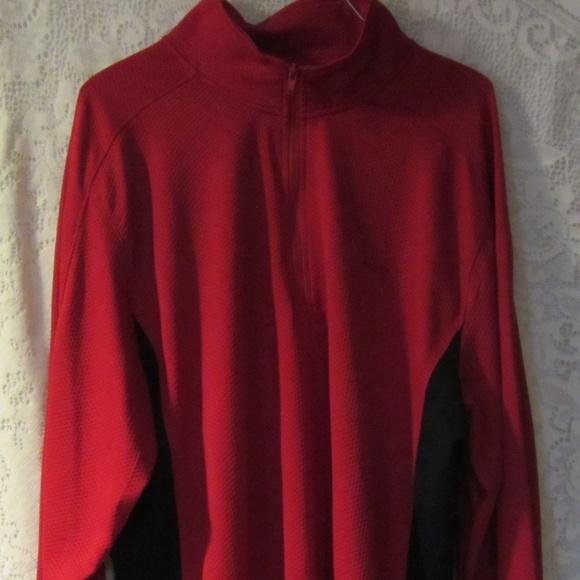424e95afb Champion Shirts | Mens Red Long Sleeve Shirt Size Xl | Poshmark